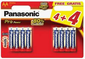 Panasonic Pro Power AA, 4+4 ks (LR6PPG/8BW)