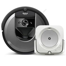 iRobot Roomba i7 / Braava jet m6 černý/bílý