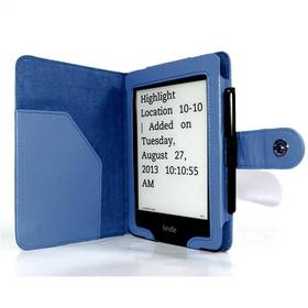 C-Tech AKC-06 pro Amazon Kindle PaperWhite, Wake / Sleep (AKC-06BL) modré