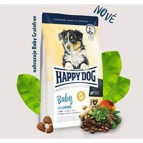 HAPPY DOG Baby Grainfree 10 kg Konzerva HAPPY DOG Rind Pur - 100% hovězí maso 200 g (zdarma) + Doprava zdarma
