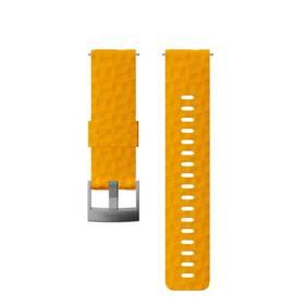 Suunto silikonový velikost M - amber/gray (SS050012000)