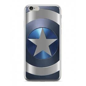 Marvel Captain America pro Apple iPhone Xs (MPCCAPAM1883) strieborný
