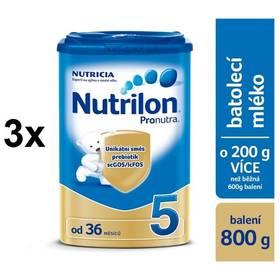 Nutrilon 5 Pronutra, 800g x 3ks + DÁREK + Doprava zdarma