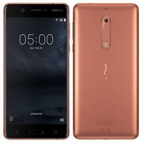 Nokia 5 Dual SIM (11ND1M01A14) měď Software F-Secure SAFE, 3 zařízení / 6 měsíců (zdarma) +