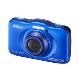 Digitálny fotoaparát Nikon Coolpix S32 + dětský batoh ZDARMA modrý