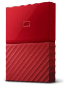 Western Digital My Passport 1TB (WDBYNN0010BRD-WESN) červený