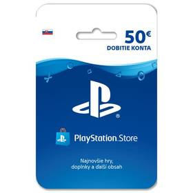 Sony PlayStation Live Cards 50 EUR - pouze pro SK PS Store (PS719800057)