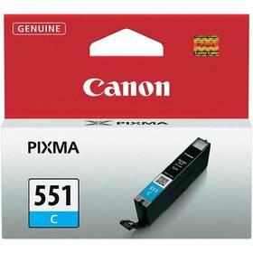 Canon CLI-551 C, 304 stran - originální (6509B001) modrá