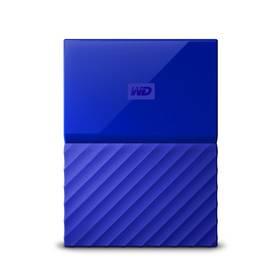 Western Digital My Passport 1TB (WDBYNN0010BBL-WESN) modrý