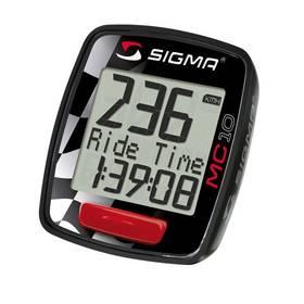 Cyklo/moto počítač Sigma MC 10 Moto - černá + Doprava zdarma
