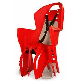 Polisport Koolah na nosič červená/krémová