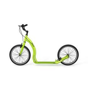 Yedoo Alloy Dragstr zelená + Reflexní sada 2 SportTeam (pásek, přívěsek, samolepky) - zelené v hodnotě 58 Kč + Doprava zdarma
