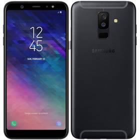 Samsung Galaxy A6+ (SM-A605FZKNXEZ) černý SIM s kreditem T-Mobile 200Kč Twist Online Internet (zdarma)