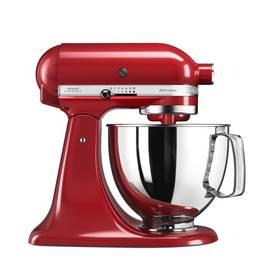 KitchenAid Artisan 5KSM125EER červený Příslušenství k robotu KitchenAid 5KFE5T plochý šlehač se stěrkou (zdarma)Příslušenství k robotu KitchenAid KB3SS nerezová mísa (3l) (zdarma) + Doprava zdarma
