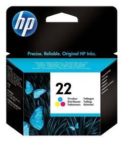 HP No. 22, 165 stran, CMY (C9352AE)