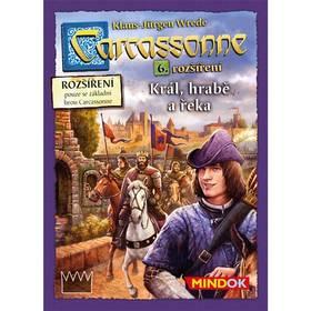 Mindok Carcassonne - rozšíření 6 (Král, hrabě a řeka)