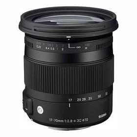 Sigma 17-70mm F2.8-4 DC MACRO OS HSM Canon černý + Doprava zdarma