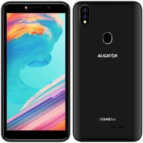 Aligator S5540 Dual SIM (AS5540BK) černý