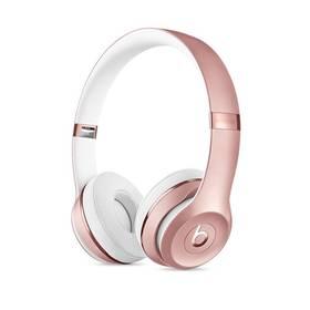 Beats Solo3 Wireless On-Ear - růžově zlaté (MNET2ZM/A) růžová + Doprava zdarma