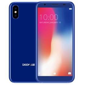 Doogee X55 Dual SIM 16 GB (6924351653729) modrý (vrácené zboží 5810009039)