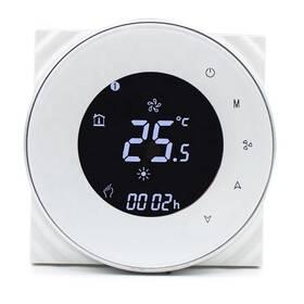 iQtech SmartLife GALW-W, WiFi termostat pro kotle s potenciálovým spínáním (IQTGALW-W) bílý