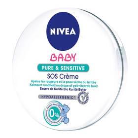 SOS krém Nivea Baby Pure & Sensitive 150 ml