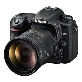 Nikon D7500 + 18-200 AF-S VRII černý + Doprava zdarma