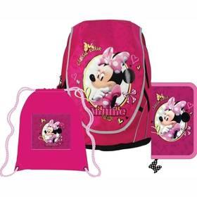 Sun Ce Disney Minnie - batoh, penál, sáček růžový