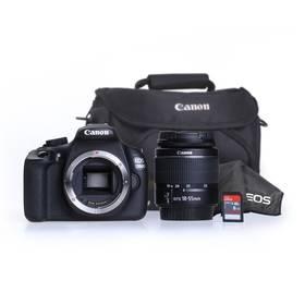 Canon EOS 1200D černý + 18-55 DC + 8GB černý Power Bank Xiaomi 10000 mAh - stříbrná (zdarma) + Doprava zdarma