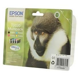 Epson T0895, 5,8ml - originální (C13T08954010) černá/červená/modrá/žlutá