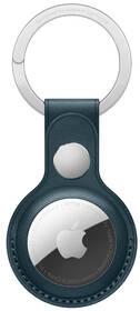 Apple AirTag kožená kľúčenka - baltská modrá