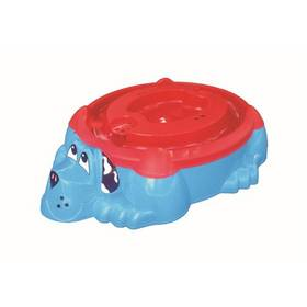 Marian Plast 2016 - bazének PES s KRYTEM (poklopem) - 113x95cm červené/modré