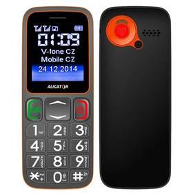 Mobilný telefón Aligator Senior A320 DualSim (A320GO) sivý/oranžový