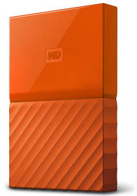 Western Digital My Passport 1TB (WDBYNN0010BOR-WESN) oranžový + Pouzdro na HDD Western Digital My Passport, černý v hodnotě 149 Kč
