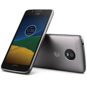 Motorola Moto G 5.generace Dual SIM (PA610037CZ) šedý SIM s kreditem T-Mobile 200Kč Twist Online Internet (zdarma) + Doprava zdarma