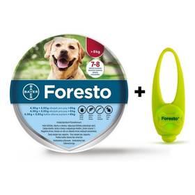 Bayer Foresto 70 cm pro psy Světýlko Bayer Foresto kost zelené (zdarma)