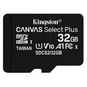 Kingston Canvas Select Plus MicroSDHC 32GB UHS-I U1 (100R/10W) (SDCS2/32GBSP)