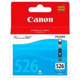 Cartridge, toner Canon CLI-526C, 9ml  - originální (4541B001) modrá