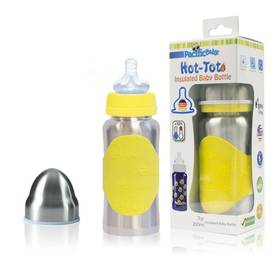 Pacific Baby Hot-Tot 200ml stříbrná/žlutá + Doprava zdarma