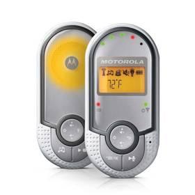 Dětská elektronická chůva Motorola MBP16 stříbrná/bílá (poškozený obal 8800377254)