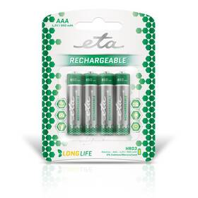 ETA AAA, HR03, 950mAh, Ni-MH, blistr 4ks (R03CHARGE9504)