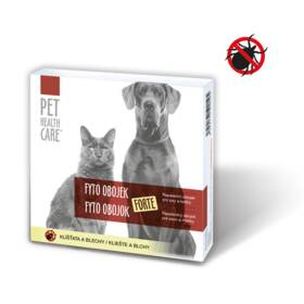 Pet Health Care FYTO FORTE pre psov a mačky antipar. 65cm 1ks