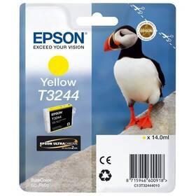 Epson T3244, 14 ml (C13T32444010) žlutá