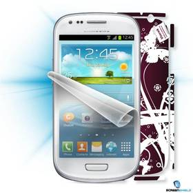 Ochranná fólia Screenshield ScreenShield fólie na displej + skin voucher (včetně popl. za dopravu k zákazníkovi) pro Samsung Galaxy S4 mini (i9195) (SAM-i9195-ST)