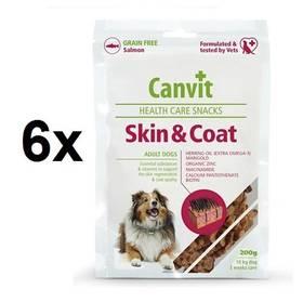 Canvit Snacks Skin a Coat 6 x 200g