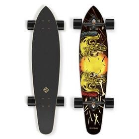 """Street Surfing Kicktail 36"""" Spartans černý/žlutý + Doprava zdarma"""