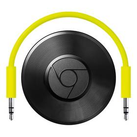 Android prehrávač Google Chromecast Audio čierny/zelený