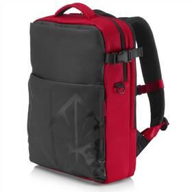"""HP OMEN Gaming Backpack pro 17"""" (4YJ80AA#ABB) černý/červený"""