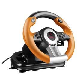 Speed Link DRIFT O.Z. Racing Wheel PC (SL-6695-BKOR-01) černý/oranžový