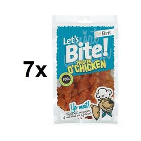 Brit Lets Bite Twister Chicken 7 x 80 g